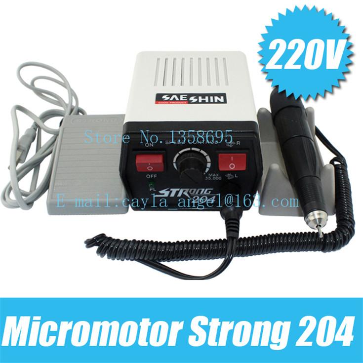 220v Micromotor strong 204 Dremel polishing motor,jewelry polishing machine,dental polish freeshipping(China (Mainland))