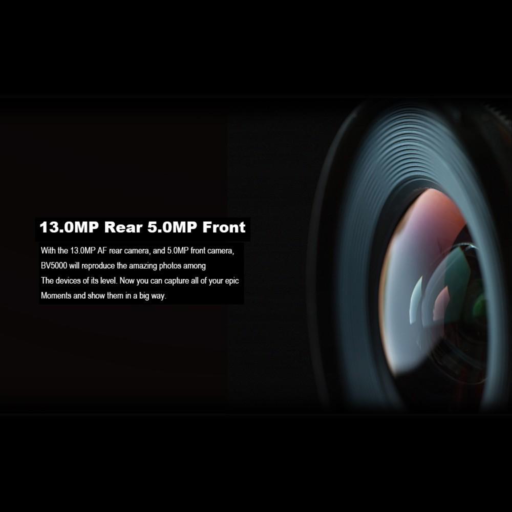 Original Blackview BV5000 4G LTE IP67 Waterproof Smartphone 5.0 Inch HD MTK6735P 64Bit Quad Core 2GB RAM 16GB ROM 8MP Dual Sim