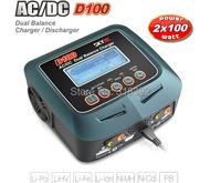 2015 New Arrival Original SKYRC D100 AC/DC Dual Balance Charger / 5A Discharger RC Car LCD AC/DC Dual charger Drop shipping