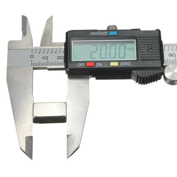 15 pcs/Lot _ N35 20x10x10mm Super Strong Block Rare Earth Neodymium Magnet