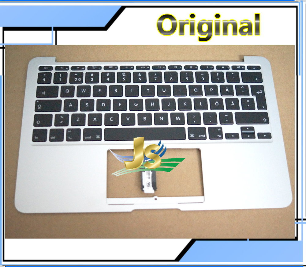 Laptop Sweden Swedish Topcase with keyboard For Macbook Air 11 A1465 Sweden Swedish topcase with keyboard No Touchpad 2012 Year<br>