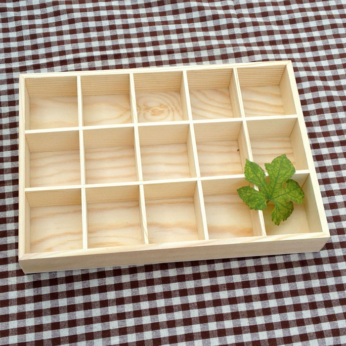 wooden display storage boxes 2