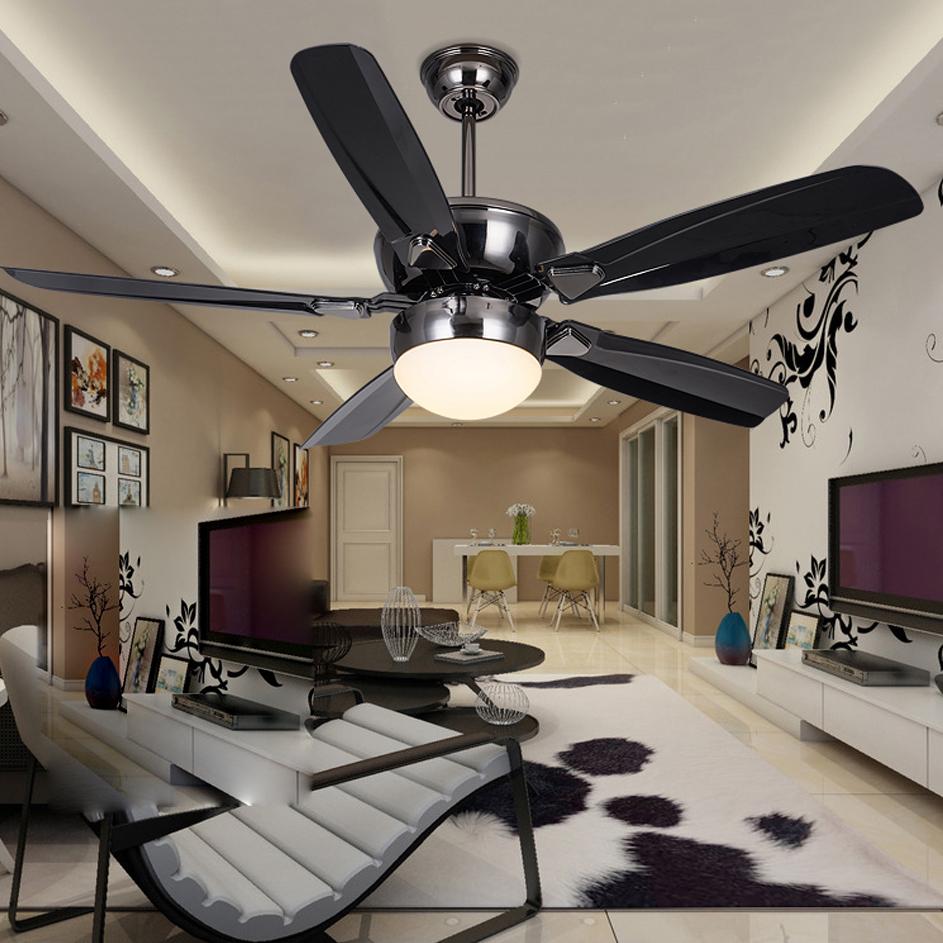 Moderne fer promotion achetez des moderne fer for Ventilateur de plafond pour chambre