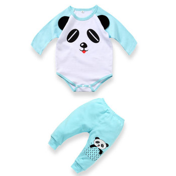 baby boy clothes newborn infant romper clothing sets Cartoon carters panda kids rompers boy girl baby clothes 0~2 year wear