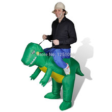Inflatable toys, inflatable dinosaurs funny performance clothing, dance riding on the back of a dinosaur(China (Mainland))