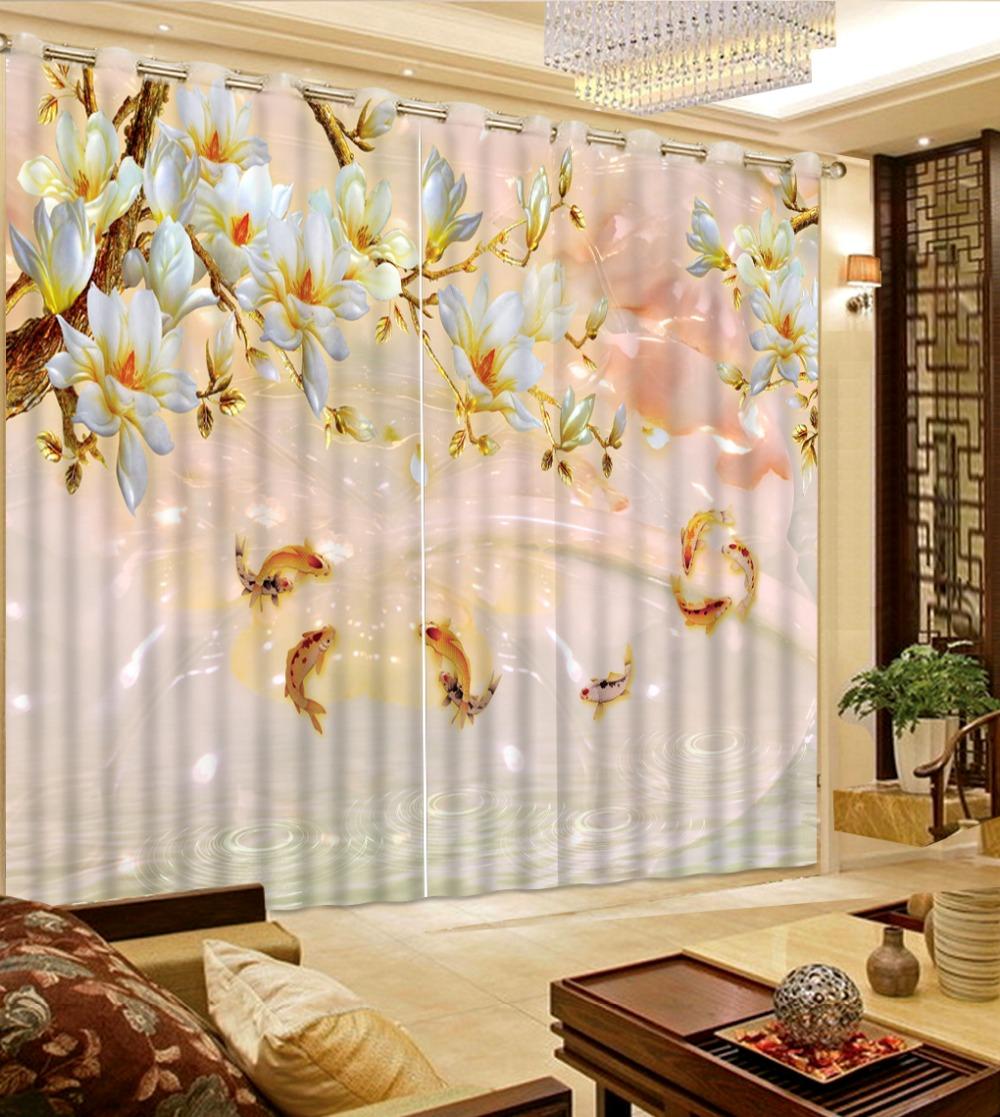 Popular fish window curtains buy cheap fish window for Fish curtains for windows