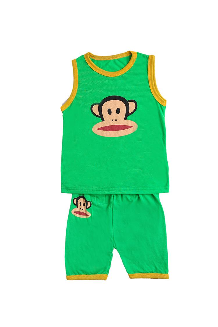 2016 Cheap Sunshine Children Boys T Shirts Clothing Sets Girls T Shirt Waistcoat Shorts Boy Kids
