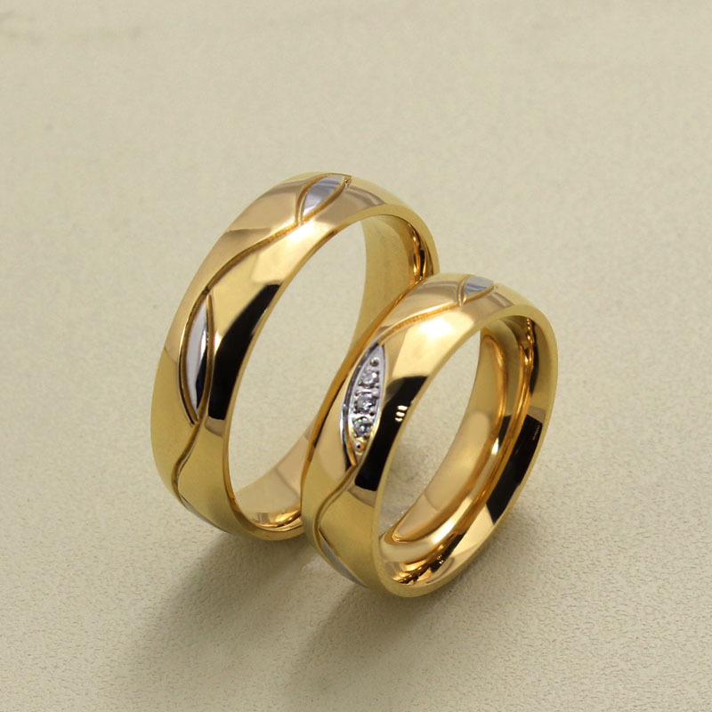 rings listing il and rose gold band wedding set bands