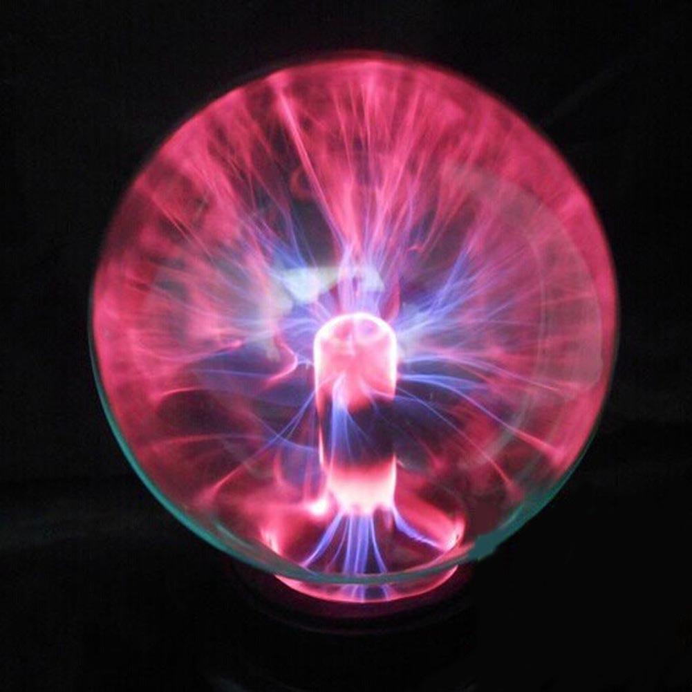 Newest 2015 Magic USB Glass Plasma Ball Sphere Lightning Lamp Light Party Black Base USB Lighting Perfect Gift Wholesale(China (Mainland))