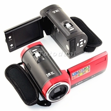 Hot Selling HD 720P 2.7'' TFT LCD Video Camcorder Digital Camera DV DVR 16x Digital ZOOM US UK AU Stock Free Shipping(China (Mainland))