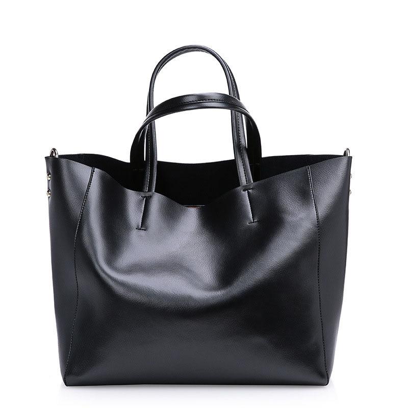 women Genuine leather bags Women Real Handbags Large Shoulder Designer Vintage bag Bolsas femininas - Guangzhou Panpan Trade Co., Ltd. store