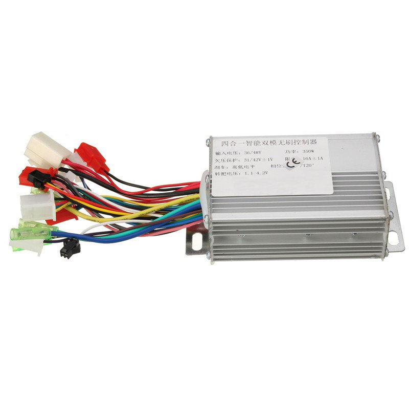 Hot Sale 36V 17A 350W Silvery Electrocar Brushless Motor Controller Accessories for Electric Scooters for Electric Dicycles(China (Mainland))