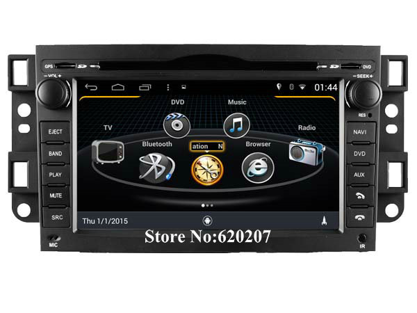 S160 Android 4.4.4 CAR DVD player  FOR CHEVROLET EPICA(2006-2011)/LOVA(2006-2011) car audio stereo Multimedia GPS  Quad-Core