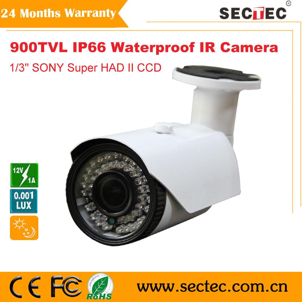 CCTV Camera 900tvl SONY CCD sensor waterproof IR Bullet HD Analog camera whole sale and retail(China (Mainland))