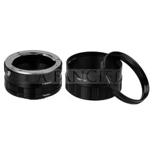 AF Macro Extension Tube Ring Adapters Set For EF DSLR SLR Camera Lens for canon 50D 40D 30D 600D 7D canon eos Rebel T1i XTi XS