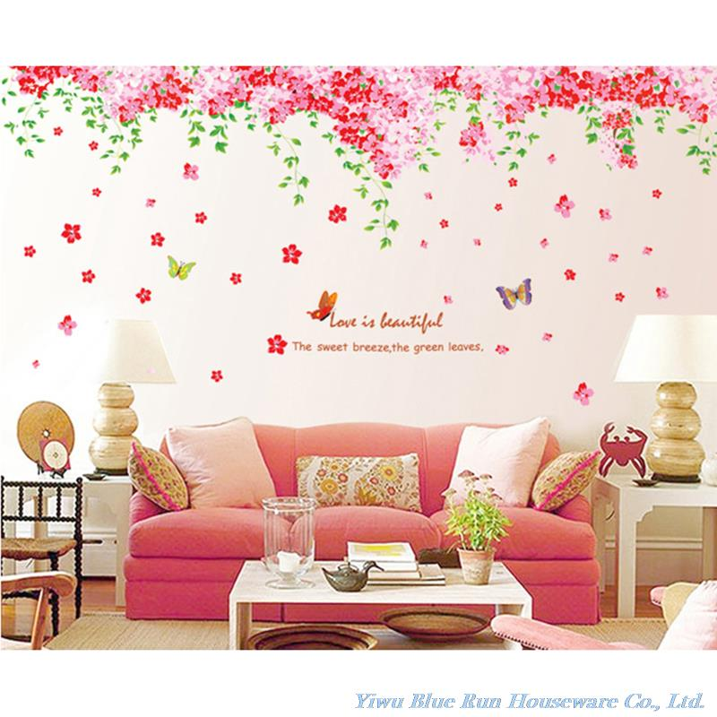 Decor Living Room Bedroom Home Decoration Mural Wall Decals Quote Love
