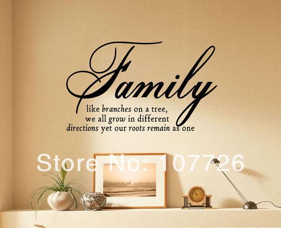 wand spr che familie werbeaktion shop f r werbeaktion wand spr che familie bei. Black Bedroom Furniture Sets. Home Design Ideas