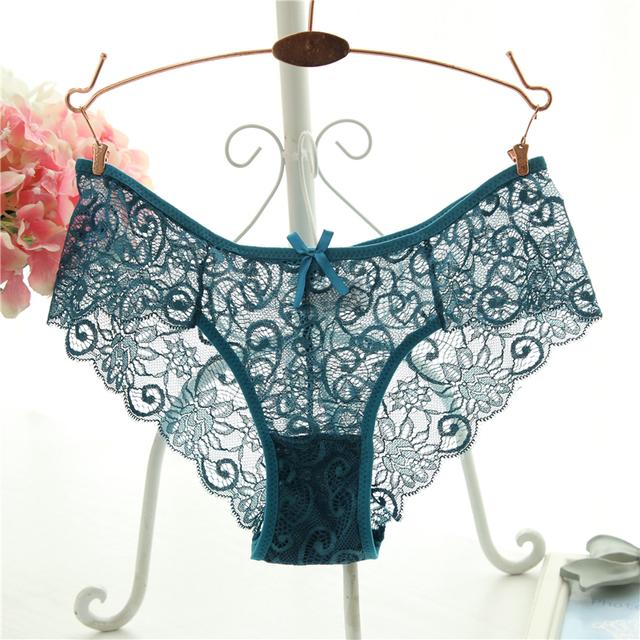 Плюс Размер S/XL Мода Высокое Качество женские Трусики Прозрачные Белье Женщин Кружева Мягкие Трусы Сексуальное Женское Белье