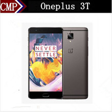 """Original Oneplus 3T One Plus Three T 4G LTE Mobile Phone Snapdragon 821 Android 7.0 5.5"""" FHD 6GB RAM 128GB ROM 16.0MP+16.0MP NFC(China (Mainland))"""
