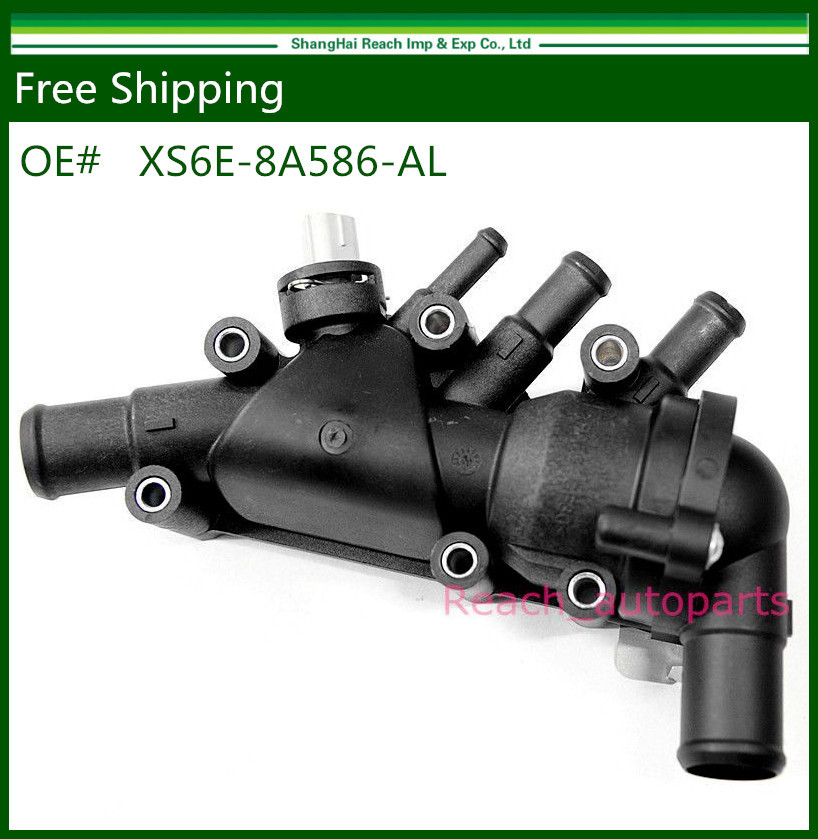 New Thermostat + Housing + Switch For 2003-2008 Ford KA 1.3i 1.6i Duratec XS6E-8A586-AL