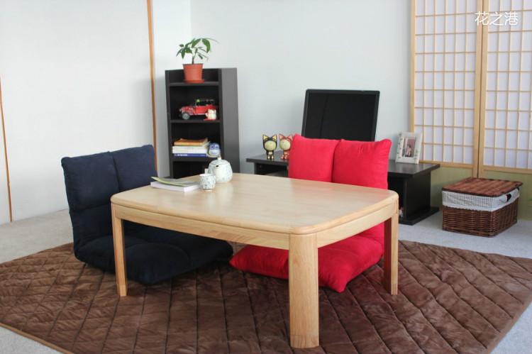 Japanese kotatsu foot warmer table home asian furniture for Asian modern home furniture