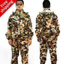 2016 hot sell Combat BDU Uniform Camouflage suit sets Military uniform combat Airsoft Hunting uniform new arrival free Shipping