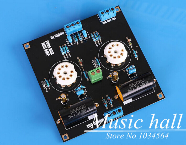 Music Hall Dual 12-30V Power Supply Tube Buffer Pre-AMP preamplifier Kit Ref Music Fidelity Free Shipping(China (Mainland))
