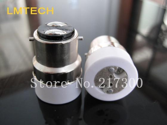strong b22 to MR16 conversion lamp turn big cuts turn bayonet lamp holder b22 to mr16 lamp holder lamp converter(China (Mainland))