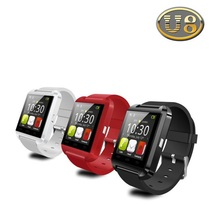 Bluetooth Watch U8 Smart watch WristWatch Smartwatch digital sport watches for Apple IOS Android phone Wearable Electronic(China (Mainland))