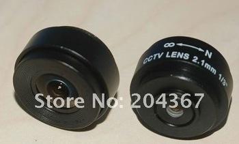 "2.1mm 1/3"" CS Mount Fixed IR CCTV Camera Lens+ Free Shipping"