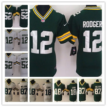 2016 Women Ladies Green Bay Packers,Aaron Rodgers,eddie lacy,Randall Cobb,Montgomery,Clay Matthews(China (Mainland))