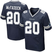 Men's #20 Darren McFadden Elite Navy Blue Team Color Football Jersey 100% stitched(China (Mainland))