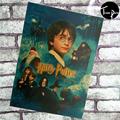 해리 포터 빈티지 포스터 J에 의해. K. 롤링 빈티지 스타일의 고품질 크래프트 종이 포스터 빈티지 장식