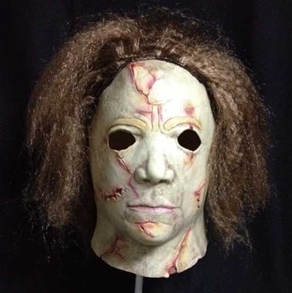 X-MERRY Realistic Micheal Myers mask latex halloween horror mask(China (Mainland))