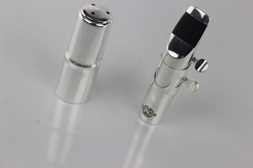 (Selmer) Metal jazz alto saxophone mouthpiece silver - size 7