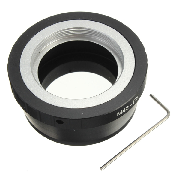 Digital Camera M42 Lens To FX X Mount X-Pro1 X Pro1 X-E1 X-M1 Camera Adapter Ring Electronics Accessories Parts(China (Mainland))