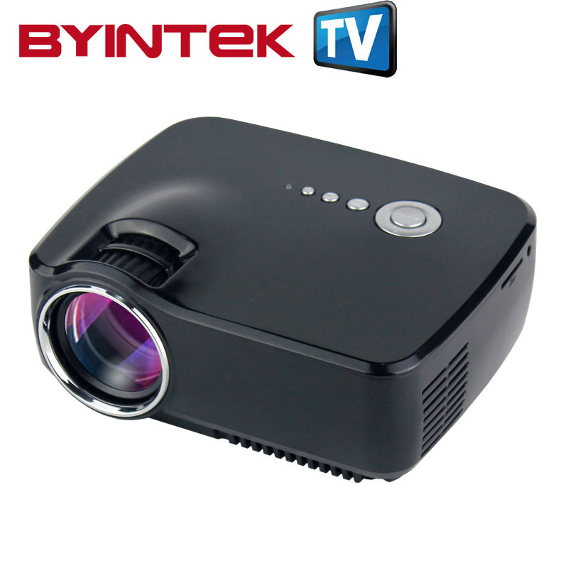 Byintek gp70 2016 am01 new hd led hdmi usb video digital for Mirror mini projector