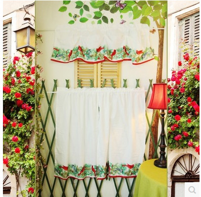 Kitchen Curtains bird kitchen curtains : Bird Kitchen Curtains プロモーション- Aliexpress.comでの ...