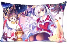 Sexy Anime Lolita #S Pillowcase Custom Zippered Rectangle Pillow Cover Cases Size xinch WT#905&UI33 - Nong-DIY Store store
