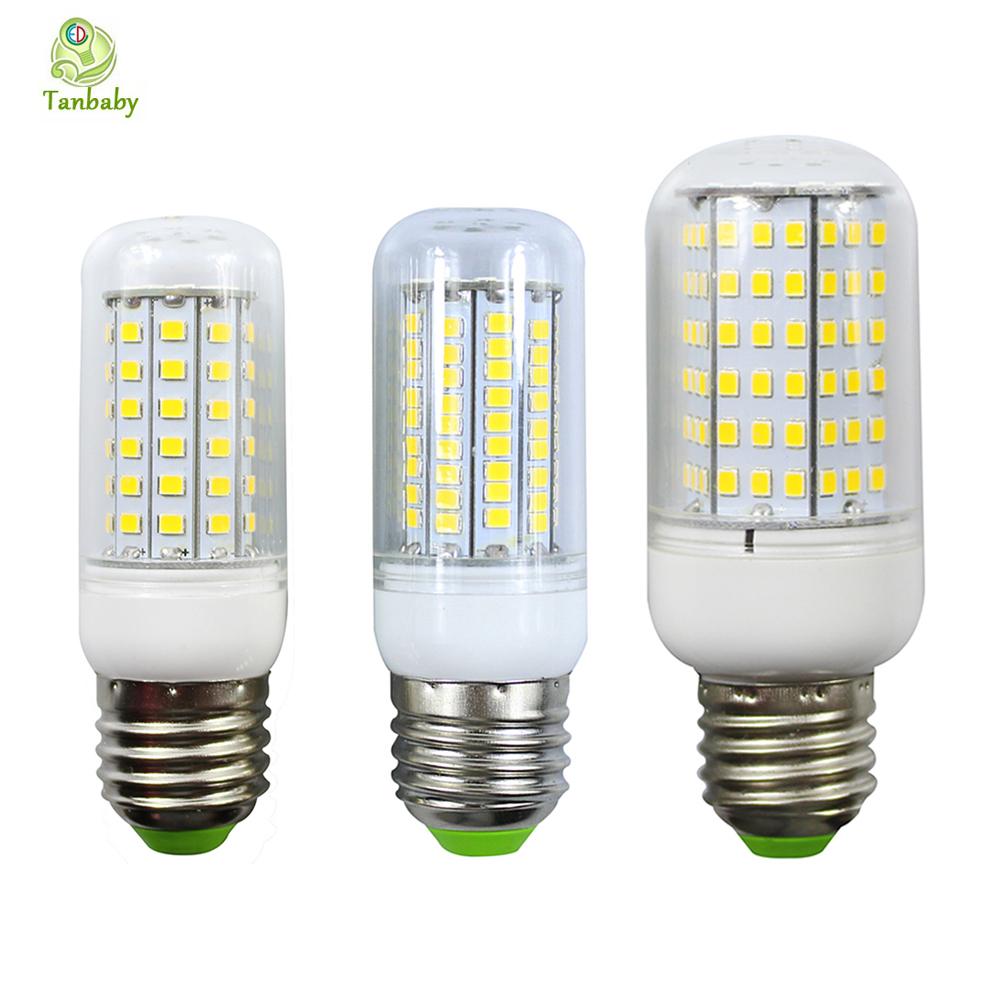 Tanbaby E27 2835 SMD LED bulb Corn Spotlight 360degree light lamp White / Warm white AC220V indoor home light enery saving<br><br>Aliexpress