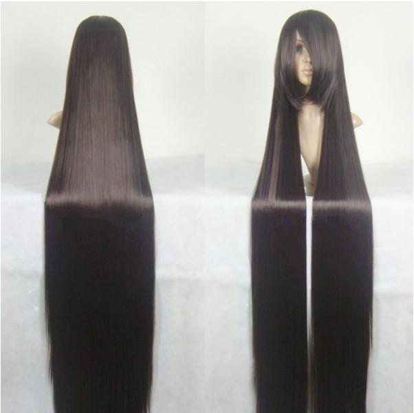 Женская парик длинные прямые синтетических косплей
