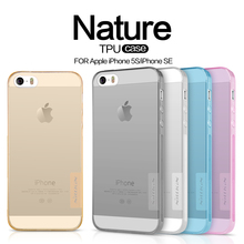 NILLKIN For iPhone 5s Se Case Ultrathin Transparent Soft Silicone TPU Protective Cases For iPhone SE 5 5S Phone Capa Back Covers(China (Mainland))