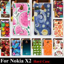 Buy Nokia X2 Hard Plastic Mobile Phone Cover Case DIY Color Paitn Cellphone Bag Shell Free for $1.46 in AliExpress store
