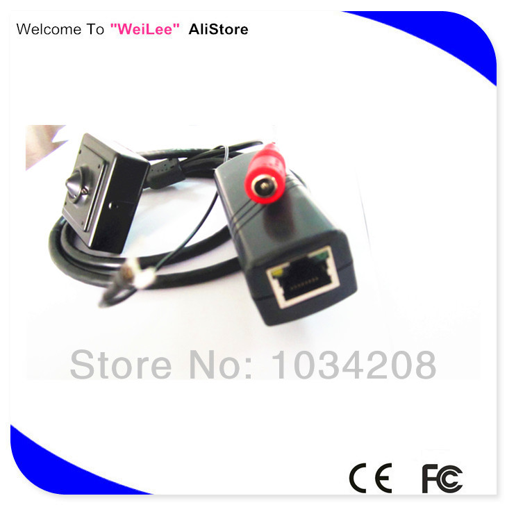 Free Shipping H.264 Series Mini Size 40x40mm Ip Camera With Poe 1.3 Megapixel Ip Camera Hd Poe<br><br>Aliexpress