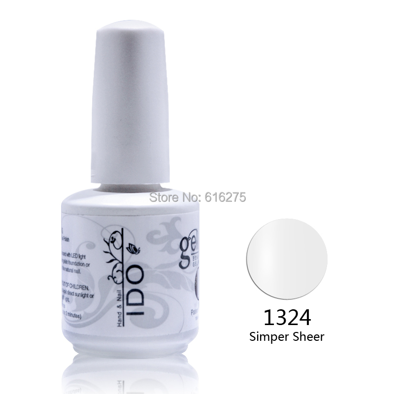 400pcs LED gel nail polish Wholesale gel nail polish 15ml 0.5oz DHL Free Shipping LED Nail gel Polish(China (Mainland))