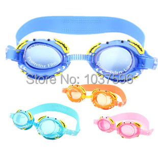 waterproof anti-fog children swimming goggles,goggles for swimming,swimming glasses kids,4 colors,free shipping(China (Mainland))
