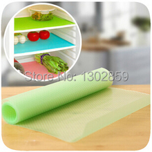 2015 Fashion Can be cut  Refrigerator pad Antibacterial antifouling Mildew Moisture absorption Pad   ( 4 pcs / lot )  29cm*45cm(China (Mainland))