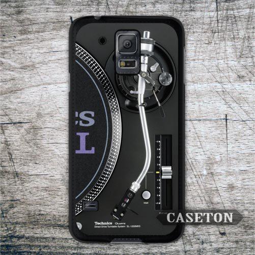 DJ Technics Turntables Classic Retro Case For Galaxy S6 S5 S4 S3 mini Active Advance Win