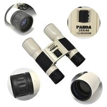 2014 HD 30x40 PANDA 1500m 9000m Outdoor binoculars HD Binocular Super Clear Telescope for Tourism Hunting