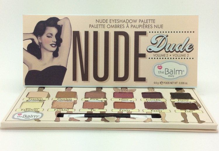 Thebalm Makeup Cosmetics 12 Colors The Balm Eyeshadow Palette Kit Nude Dude Volume 2 Eye Shadow Make Up 2015 New Arrivals(China (Mainland))